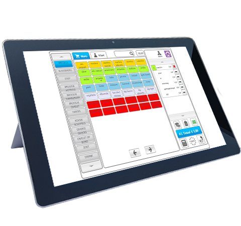 POS cash register Tablet Premium restaurant